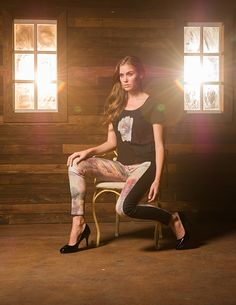 FIGI Jeans – Women's Apparel Inspired by Contemporary Art Movements and Artists http://shar.es/1nU6lF