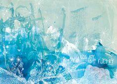 sweet william: New Work - William Blake in Blue
