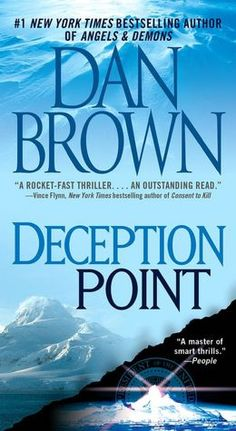 Deception Point by Dan Brown. He can spin a good story.
