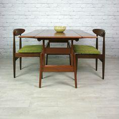 Danish Teak Trioh Metamorphic Coffee/Dining Table