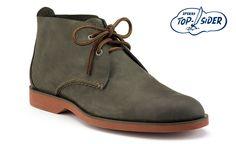 Sperry Top-sider Men's Cloud Logo Boat Oxford Chukka Boot (Dark Grey Suede) $100 - nice basic