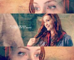 """What would Hermione do?"" Love her! #Supernatural #TheGirlWithTheDungeonsAndDragonsTattoo #Charlie"