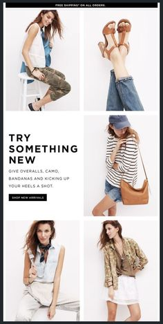 Madewell Email Design Email Marketing Inspiration - Email Marketing - Start your email marketing Now. E-mail Marketing, Email Marketing Design, Email Marketing Campaign, Email Marketing Strategy, Marketing Software, Marketing Ideas, Digital Marketing, Email Template Design, Email Newsletter Design