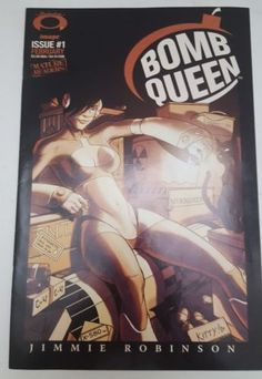 BOMB QUEEN #1 IMAGE COMICS SHADOWLINE 1ST APPEARANCE MATURE READERS