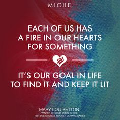 Find your fire... #miche #quotes #inspiration #motivation #olympics2014 #olympicquotes