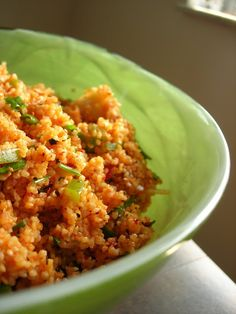 Turkish Tabbouleh (Kısır)   This is a great bulgur salad that would be perfect to bring to a BBQ.