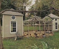 Chicken Pavilion {Bunny Williams}