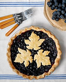 Concord Grape Pie à la Martha Stewart.  The filling is too delicious for words.