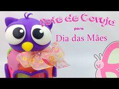 DIY - Pote de Coruja - Dia das Mães + Parceria Nova - Sah Passa o passo - YouTube