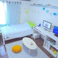 8さんの、部屋全体,一人暮らし,6畳ワンルーム,のお部屋写真