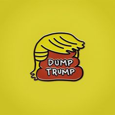Trump protest pins by Sagmeister & Walsh, Hort, Olimpia Zagnoli and Protest Posters, Protest Signs, Caricature, Sagmeister And Walsh, Us Presidential Elections, Trump Protest, Trump Sign, Badge Design, Pin And Patches