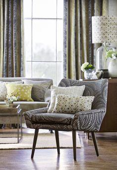 Fragments Collection by Harlequin. #interiordesign #harlequin #fabrics #malcolmfabrics