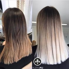 Work on Ombre if the results it's perfect you can see it only on straight hair, who is agree? ⬇️