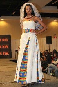 Queen Yaa-Asantewaa of Ghana Wedding Gown