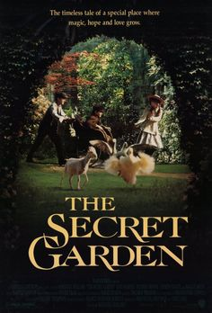 I can remember the first time I ever saw this in theaters. Still brings me to tears every time I watch it. And plus I always wanted my own secret garden.