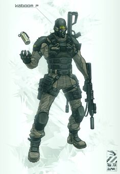 Black Ops Unit by *duster132 on deviantART