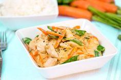 Kananpoikaa juustokastikkeessa Home Food, Easy Cooking, Thai Red Curry, Potato Salad, Chicken Recipes, Easy Meals, Healthy Recipes, Healthy Food, Dishes
