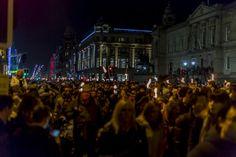 Torchlight Procession   Princes Street   Edinburgh