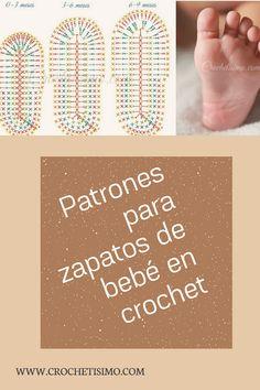 80 Patrones para hacer zapatitos, botines y zapatillas de bebés en crochet (free patterns crochet sandals babies) Crochet Triangle Scarf, Crochet Mandala Pattern, Crochet Square Patterns, Crochet Blanket Patterns, Baby Knitting Patterns, Tops A Crochet, Sewing Slippers, Crochet Baby Sandals, Crochet Doll Clothes