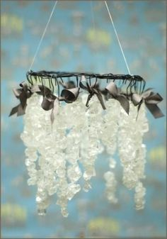 edible chandelier diy