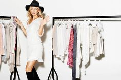 Kate Hudson is All Smiles for Lindex Spring 2014 Ads