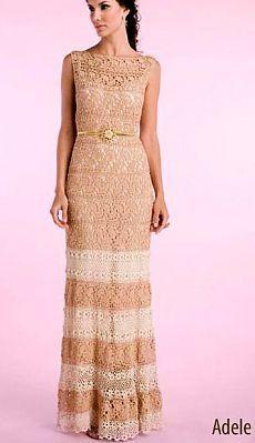 платье Адель от Джованны Диас с подобраными схемами.