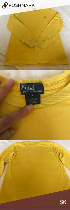 Boys Top - Polo Size 7 In excellent condition! Comes from a pet free/ smoke free home. Polo by Ralph Lauren Shirts & Tops Tees - Long Sleeve