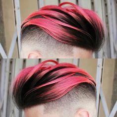 Tagli Capelli Uomo Trend Settime Boys Colored Hair Men Color Cool