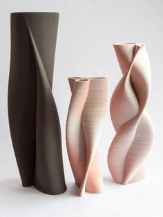 printer design printer projects printer diy Ceramics Ceramics Printed pots – ceramics made using a printer you can find similar pins be. Ceramic Pots, Ceramic Pottery, 3d Printing Diy, 3d Printed Objects, 3d Printer Designs, Modelos 3d, Keramik Vase, Pottery Designs, Decoration