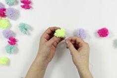 #DIY: Pom Pom Girlande!