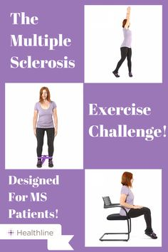 Take the MS Exercise Challenge! You'll receive 30 different easy to follow strength training and mobility exercises designed for MS patients.