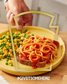 The hidden gem of Heinz pasta - freshly made spaghetti in a juicy tomato sauce. #GiveItSomeHeinz Fresh Tomato Spaghetti Sauce, Tomato Sauce, Heinz Recipe, Recipe Hub, Pasta Recipes, Cooking Recipes, Pasta Meals, Good Food Image, 21 Day Fix Meal Plan