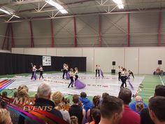 Color Guard Contest Franeker 2016 in De Trije te Franeker