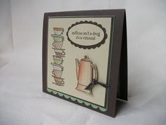 caffine cup stack by Kiwi Jules - Cards and Paper Crafts at Splitcoaststampers