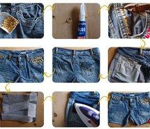 Inspiring picture beauty, diy, girls, studded, shorts, summer. Resolution: 399x315. Find the picture to your taste!