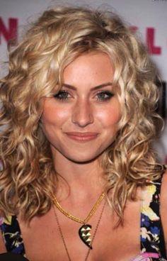 curls side part
