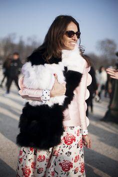 Fotos de street style en Paris Fashion Week: Vivianna Volpicella