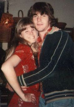 Dennis Quaid and first wife PJ Soles (from the Ramones movie Rock and Roll High School!!!!!!!!)