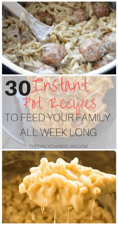 30 Easy Instant Pot Recipes for Beginners – The Daily Change Jar – Food: Veggie tables Instant Pot Pressure Cooker, Pressure Cooker Recipes, Pressure Cooking, Recipes For Beginners, New Recipes, Cooking Recipes, Best Instant Pot Recipe, Instant Pot Dinner Recipes, Frugal Meals