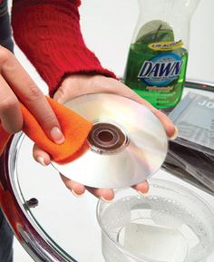 how to get a scratched dvd to play