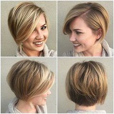 25 Best Short Bob Hairstyles – Love this Hair More Source by Related posts:Wedding Makeup - result for Fine Hairstyle Short Hair Cuts For Women Over 50 hair hair hair hair - hairstyle ideas women Bob Hairstyles For Fine Hair, Haircuts For Fine Hair, Best Short Haircuts, Cool Haircuts, Woman Hairstyles, Pixie Haircuts, Hairstyles 2018, Modern Hairstyles, Haircut Short