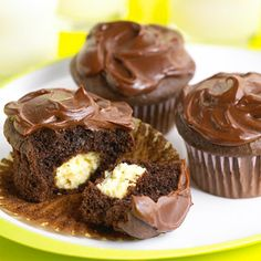 Surprise Cupcakes From Better Homes and Gardens, ideas and improvement projects for your home and garden plus recipes and entertaining ideas.