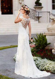 Lace and Tulle Mermaid Bridal Gowns