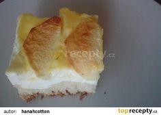 Kynutý tvarohový koláč s jablky recept - TopRecepty.cz