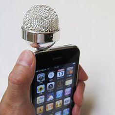 Microfono per iPhone :D