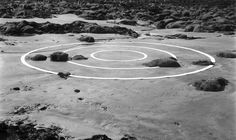 Richard Long.  These particular landscape images range from the 1960s to 1980s.