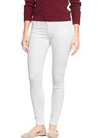 Women's The Rockstar White Super Skinny Jeans