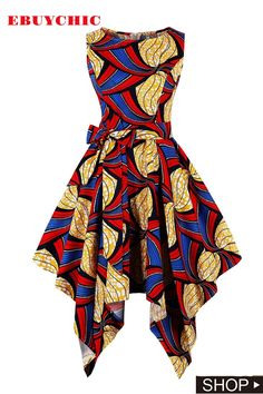 Women's Vintage Retro Plus Size Asymmetrical Rockabilly Halloween Dress,Size Best Halloween Costumes & Dresses USA Latest African Fashion Dresses, African Print Dresses, African Dress, African Wear, African Style, African Attire, African Prints, Vintage Dresses Online, Cheap Dresses Online