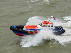 Reddingboot Zeemanshoop als fotomodel