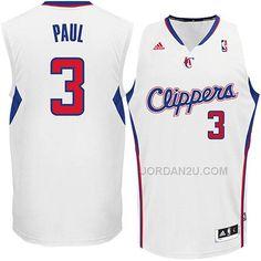 best website 4d531 f2b81 adidas Chris Paul Los Angeles Clippers Revolution 30 Swingman Jersey White  Discount Jordans, Discount Nike